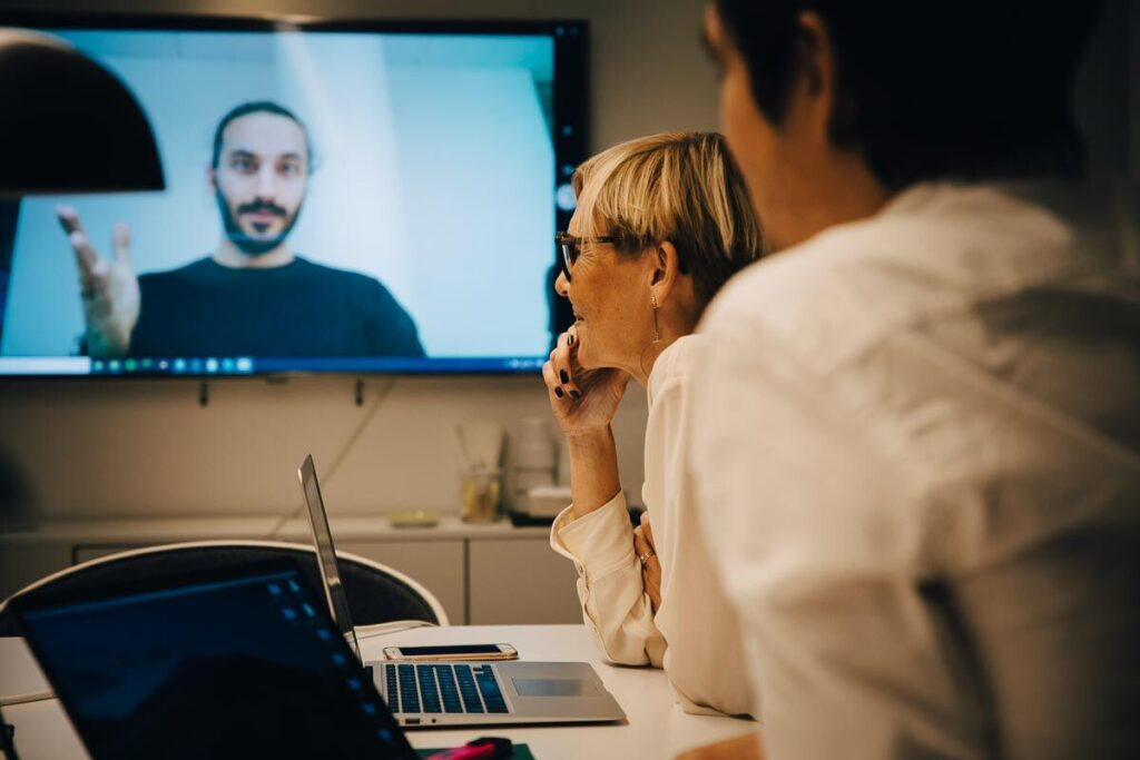Virtual meetings and remote collaboration during self-isolation
